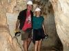 Exploring Mimbi Caves together, southern Kimberley WA