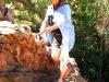 Nirbeeja explores around Dimond Gorge, the Kimberley, WA 2009
