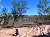 Nirbeeja indulging in her favourite activity - birdwatching at Cajeput Pool, Mornington Wilderness Conservancy, the Kimberley