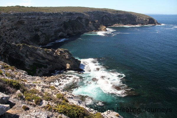 Wild coastline near Admiral's Arch, Flinders Chase National Park