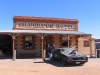 Peter attempts to hijack the Mad Max Car outside Silverton Hotel, outback NSW