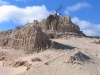 Mungo National Park - outback NSW.  Nature's sand sculptures.