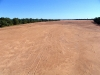 The Gascoyne River, near Carnarvon.  Usually, the water flows beneath the sand.