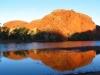 Sunset reflection at Doolena Gorge