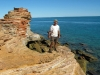 Peter at Gantheaume Point, Broome