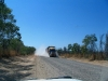 Take cover – here comes a road train!