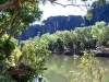 Scene from the banks along Windjana Gorge