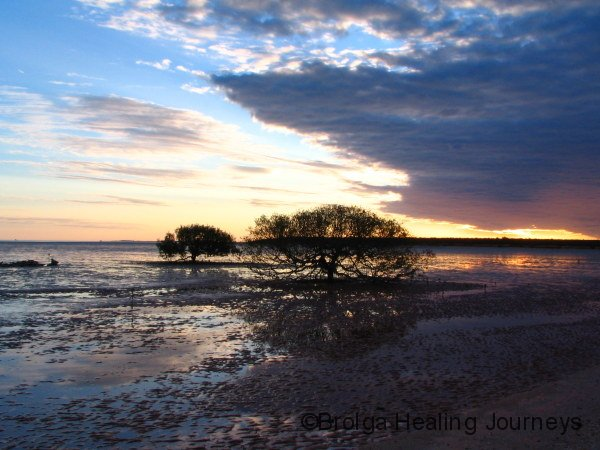 Last light on Roebuck Bay