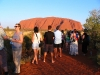 The daily ritual to watch the sunset at Uluru