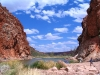 Glen Helen Gorge, on the Finke river, West MacDonnell Ranges