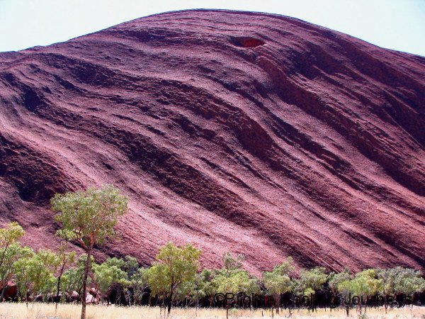 South-eastern aspect of Uluru