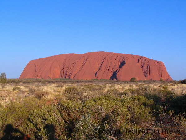 Uluru early afternoon