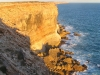 Nullarbor cliffs – late afternoon