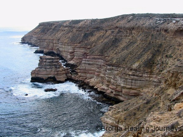 Island Rock – coastline of Kalbarri Ntl Pk