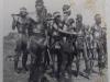 Wajarri men in full ceremonial dress