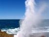 Blowhole in action – north of Carnarvon