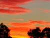 Sunset at Breberie Lake