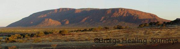 Burringurrah (Mt Augustus) at sunset
