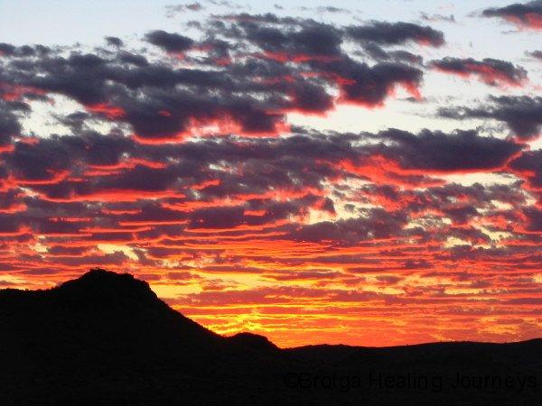 A Pilbara sunset, from Kusput Pool