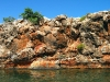 The colourful cliffs of Yardie Creek