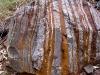 Patterned boulder, Dales Gorge