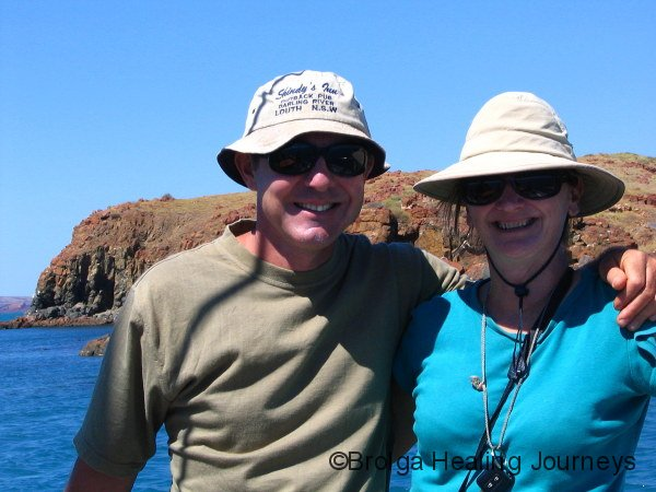 Wind-swept adventurers on the Spinifex Spray