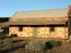 Buckaringa cottage in early morning light. The cottage was built around the turn of last century.   It is cozy and delightful!