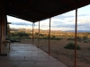 Afternoon view, looking north from the front verandah of the cottage