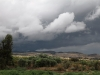 Rain-clouds approaching Buckaringa