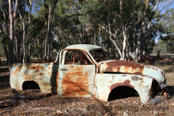 Anyone for a spin in the Holden Ute?  A reminder of yesteryear.
