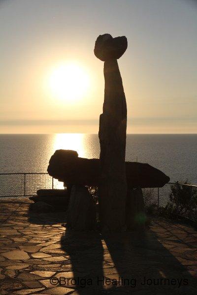 Monument to Aboriginal creator spirits Tjilbruke & Kulultuwi, Kingston Park South Australia
