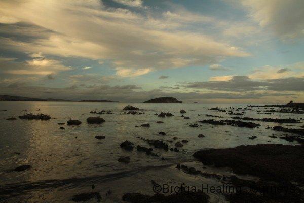 Encounter Bay, Victor Harbour, at dusk, 2