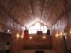 The impressive underground Serbian Church.