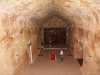 Nirbeeja explores the underground Serbian Church in Coober Pedy