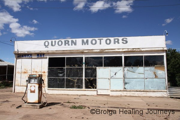 We needed a service for our car, but decided to wait until Broken Hill.