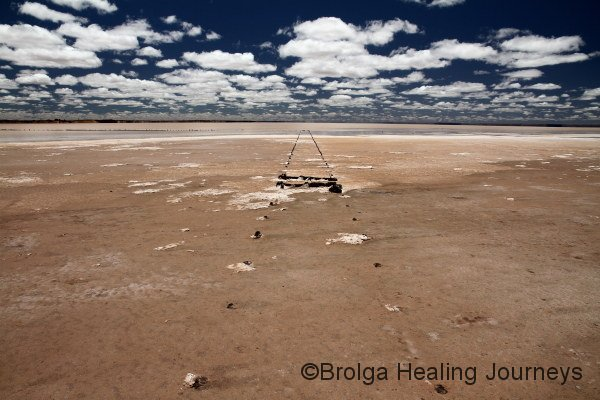Lake Hart, north of Woomera