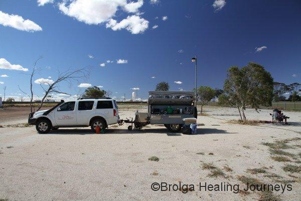 Campground, woomera style
