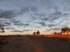 sunset glow, Woomera