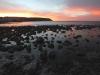 Stokes Bay at sunset