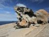 Nirbeeja explores Remarkable Rocks, Flinders Chase Ntl Pk