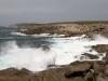 Huge waves crash ashore near Point Ellen