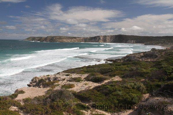 Pennington Bay on the wild south coast of Kangaroo Island