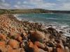 The rocky shore of Moncrieff Bay near Cape Willoughby, Kagaroo Island