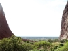 The view from Walpa Gorge, Kata Tjuta, late afternoon