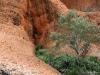 Imposing cliff-face