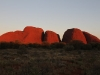 Sunset glow on Kata Tjuta, later