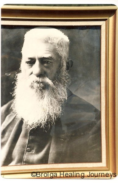 Photo of TA Mathews.  The photo hangs in Shindy's Inn, Louth.