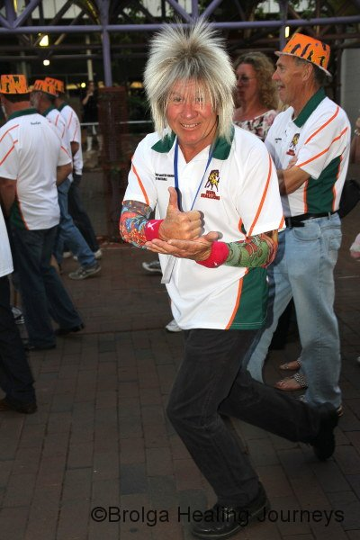 DUDE!!!!! Actually, Errol Neish, from Canberra, raising funds for people with MS.