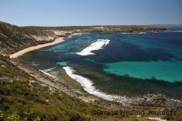Stunning coastline near Memory Cove