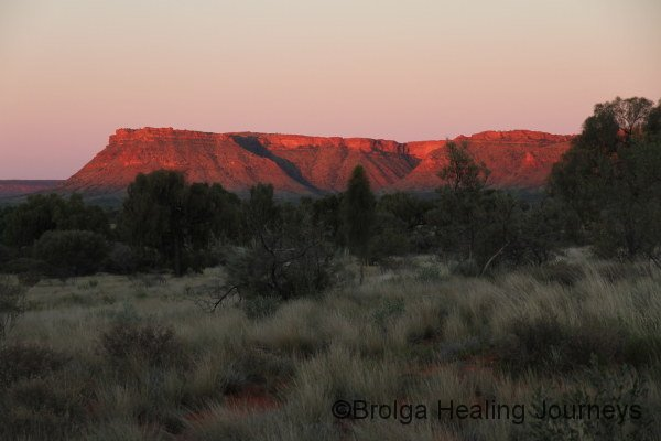 Sunset on George Gill Range, Watarrka National Park